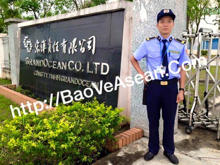 Hình ảnh nhân viên bảo vệ asean