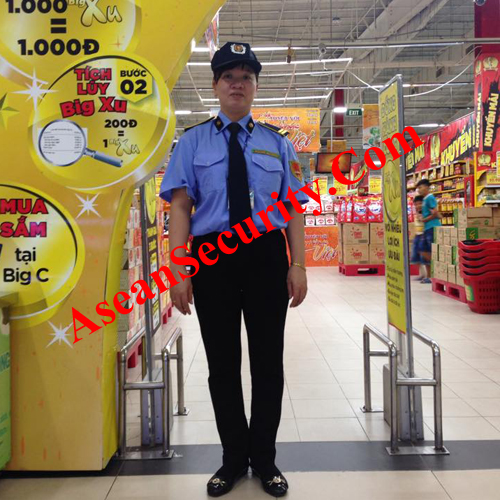 Quy định về đồng phục nhân viên bảo vệ