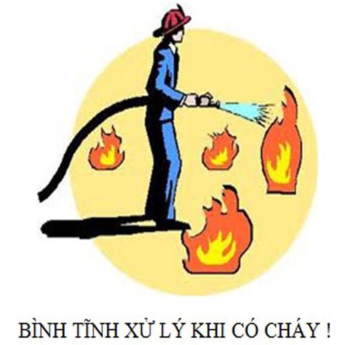 Bảo vệ ASEAN - Quy trình xử lý khi có cháy xảy ra