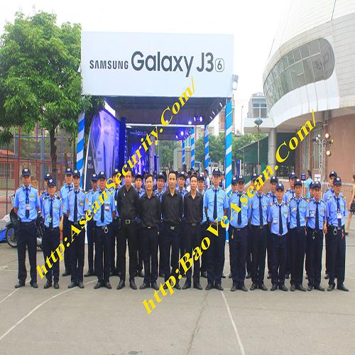 Bảo vệ ASEAN - Bảo vệ sự kiện của SAMSUNG tại HD